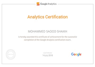 mohammed-shaikh-google-analytics-certificate