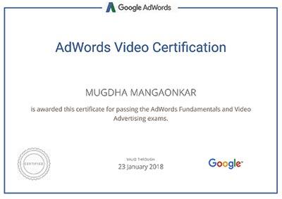 mugdha-mangaonkar-google-adwords-certificate