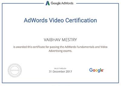 vaibhav-mestry-google-certificate