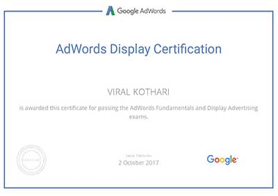 viralkothari-google-adwords-certification